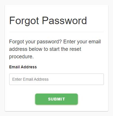 Forget password